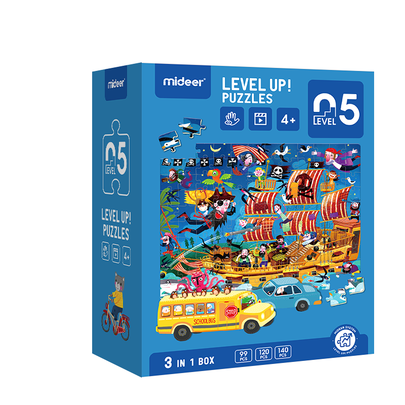 Level up! puzzles 05    (4+)
