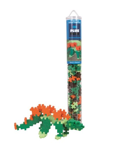 Plus-Plus Stegosaurus / 100 pcs Tube 3+