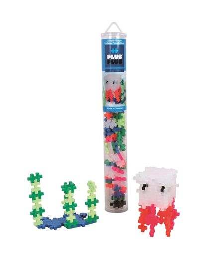 Plus-Plus Jellyfish / 100 pcs. Tube 3+