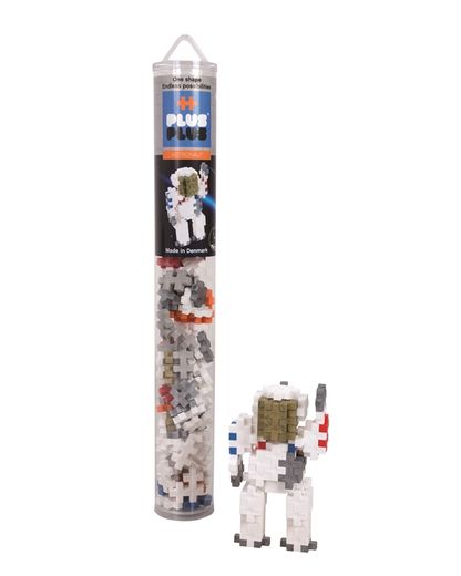 Plus-Plus Astronaut / 100 pcs. Tube 3+