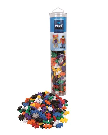 Plus-Plus Basic mix / 240 pcs. Tube 3+