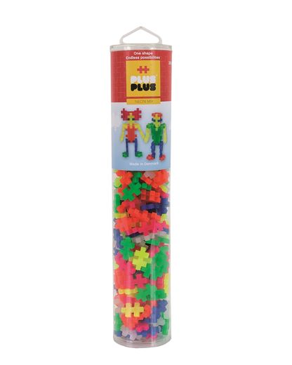 Plus-Plus Neon mix / 240 pcs. Tube 3+
