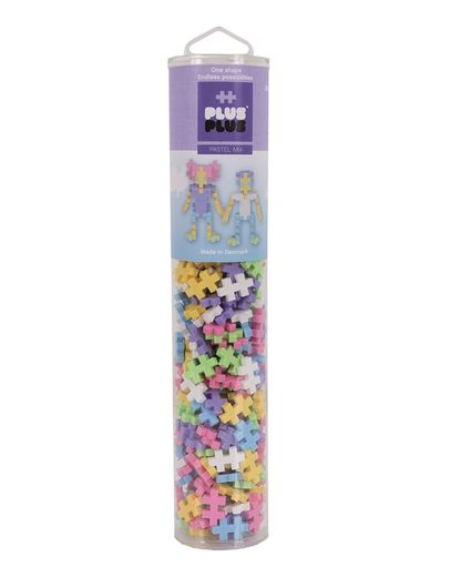 Plus-Plus Pastel mix / 240 pcs. Tube 3+