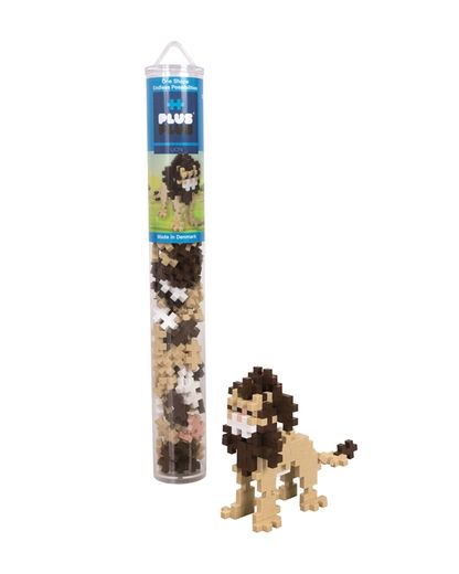 Plus-Plus Lion / 100 pcs. Tube 3+