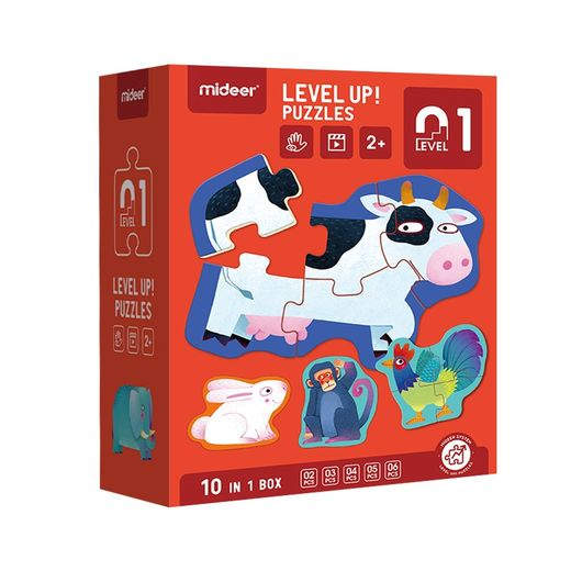 Level up! puzzles 01    (2+)
