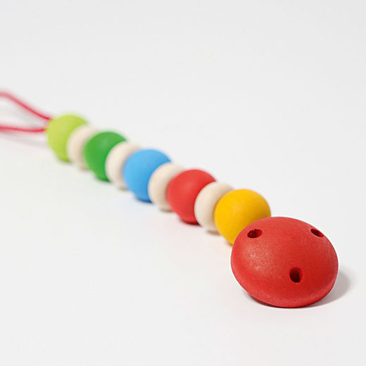 Grimms Rainbow Pacifier Chain