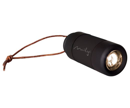 Taskulamppu musta - Flashlight Black Maileg