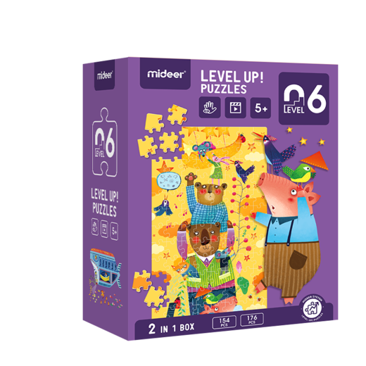 Level up! puzzles 06    (5+)
