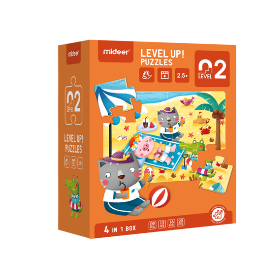 Level up! puzzles 02    (2,5+)