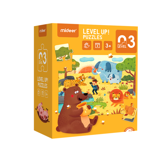 Level up! puzzles 03    (3+)