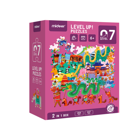 Level up! puzzles 07    (6+)