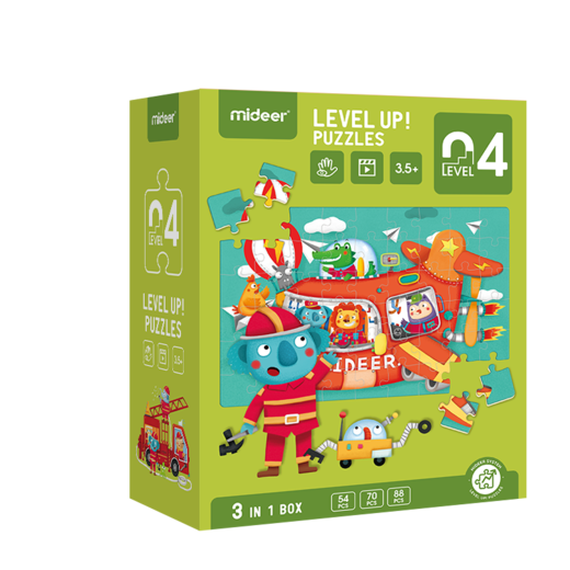 Level up! puzzles 04    (3,5+)